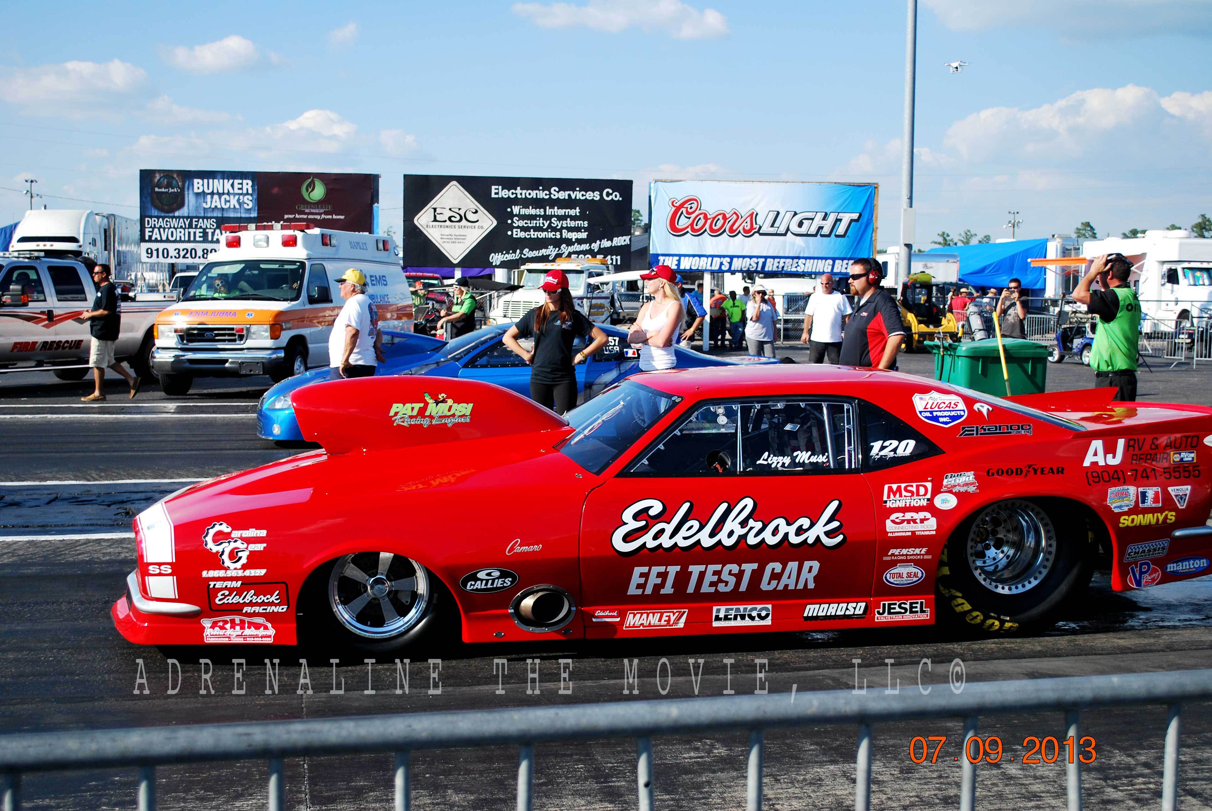 Edelbrock EFI Test Car